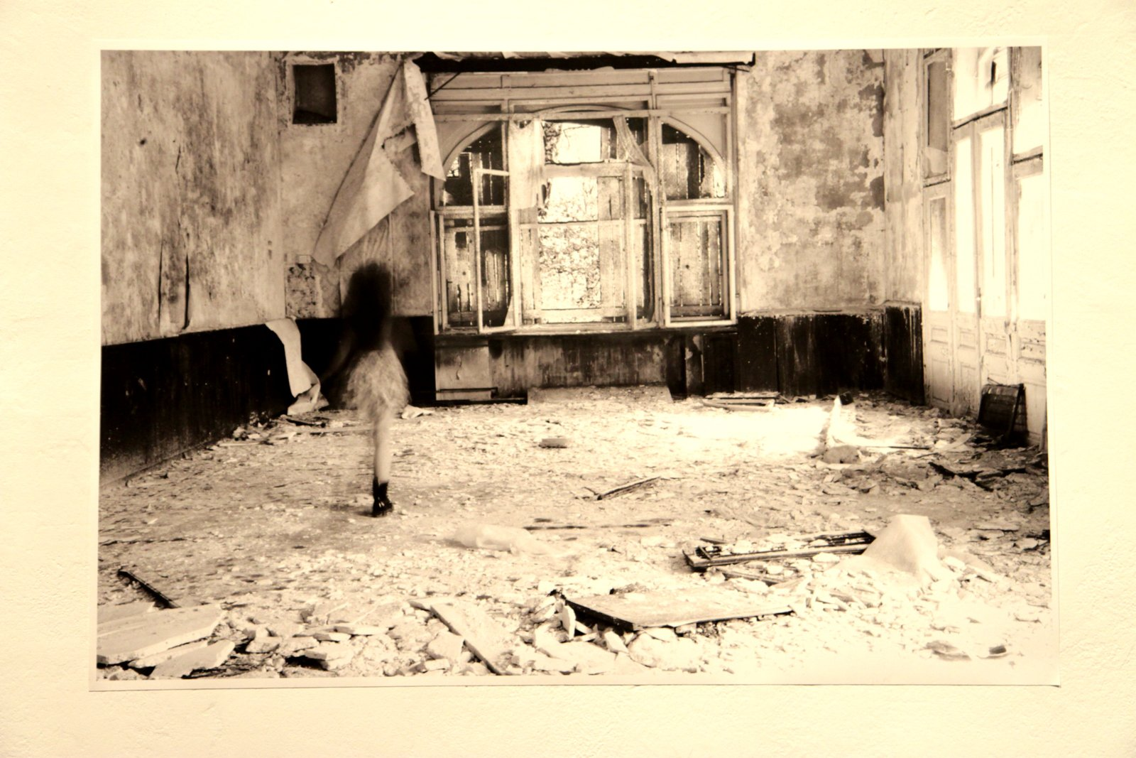 Series of Photographs as part of the installation Daddy was a spy for the Soviet Union